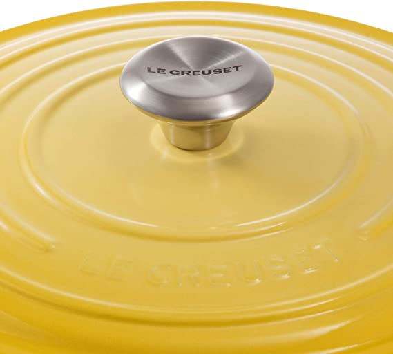 Amazon.com: Le Creuset Signature Soleil - Cacerola redonda ...