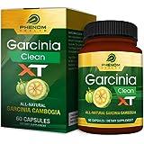 Garcinia Clean XT - all natural garcinia cambogia supplement - 60 capsules