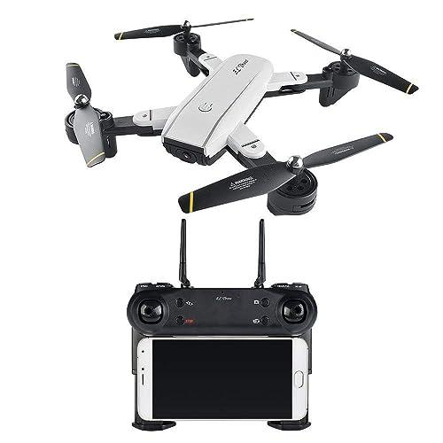 H3 Quadcopter 2.4Ghz 6 Axes Gyroscope RC Drone avec Caméra HD FPV,Télécommande & APP,Mode sans Tête Mode de Maintien en Altitude,BATTERIE BONUS