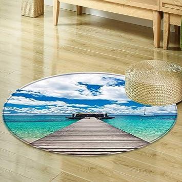 Round Sailboat Rug Carpet Vidalondon