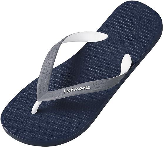 Unisex Summer Beach Slippers Colored Illustration Art Flip-Flop Flat Home Thong Sandal Shoes