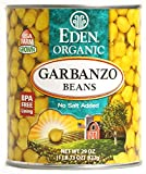 Eden Foods Organic Bean Can, Garbanzo, 29 oz