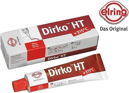 Elring 705 705 Dirko Ht Rot Dichtmasse Dichtmittel 70ml Motor Getriebe Dichtung Ölwanne Auto