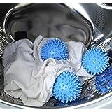 Pelotas para Secadora,4 pcs Accesorios de lavandería Bolas,Bolas de Secadora Reutilizables,Bolas de Secado para Lavandería,Su
