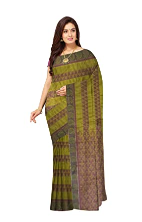 4938e7b654a3f5 Javuli Women s kanchipuram silk sarees with Blouse Piece (soft-silk) (soft-