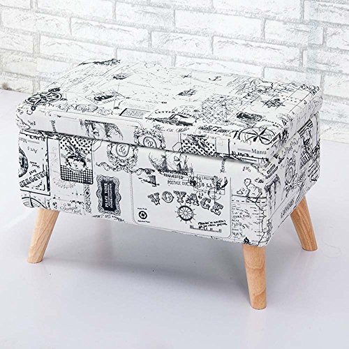 HOMEE Nordic retro hall creative change shoe stool storage stool storage stool clothing shop sofa stool shoes cloakroom sofa stool (multiple colors available),19 by HOMEE