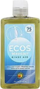 Ecos WaveJet Rinse Aid,8 fl oz