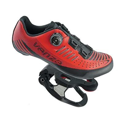 Venzo Road Bike Compatible with Shimano SPD SPD SL Look Cycling Bicycle Shoes & Pedals 40: Sports & Outdoors