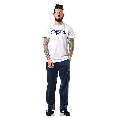 c8eb4622017564 adidas Originals Herren Adi Firebird Sporthose Trainingshose Hose Blau  Orange