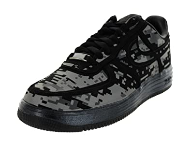 Hombres Nike Negro Lunar Force 1 Digi Nrg Negro Nike  Reflejan La Plata cd1751