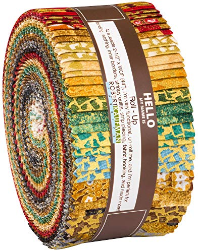 Gustav Klimt Roll Up 40 2.5-inch Strips Jelly Roll by Studio RK Robert Kaufman