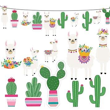 Amazon.com: 2019 Llama Cactus Guirnalda de suministros para ...