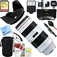 Canon (2569A004) EF 70-200mm F/2.8L USM Lens + 64GB Ultimate Filter & Flash Photography Bundle