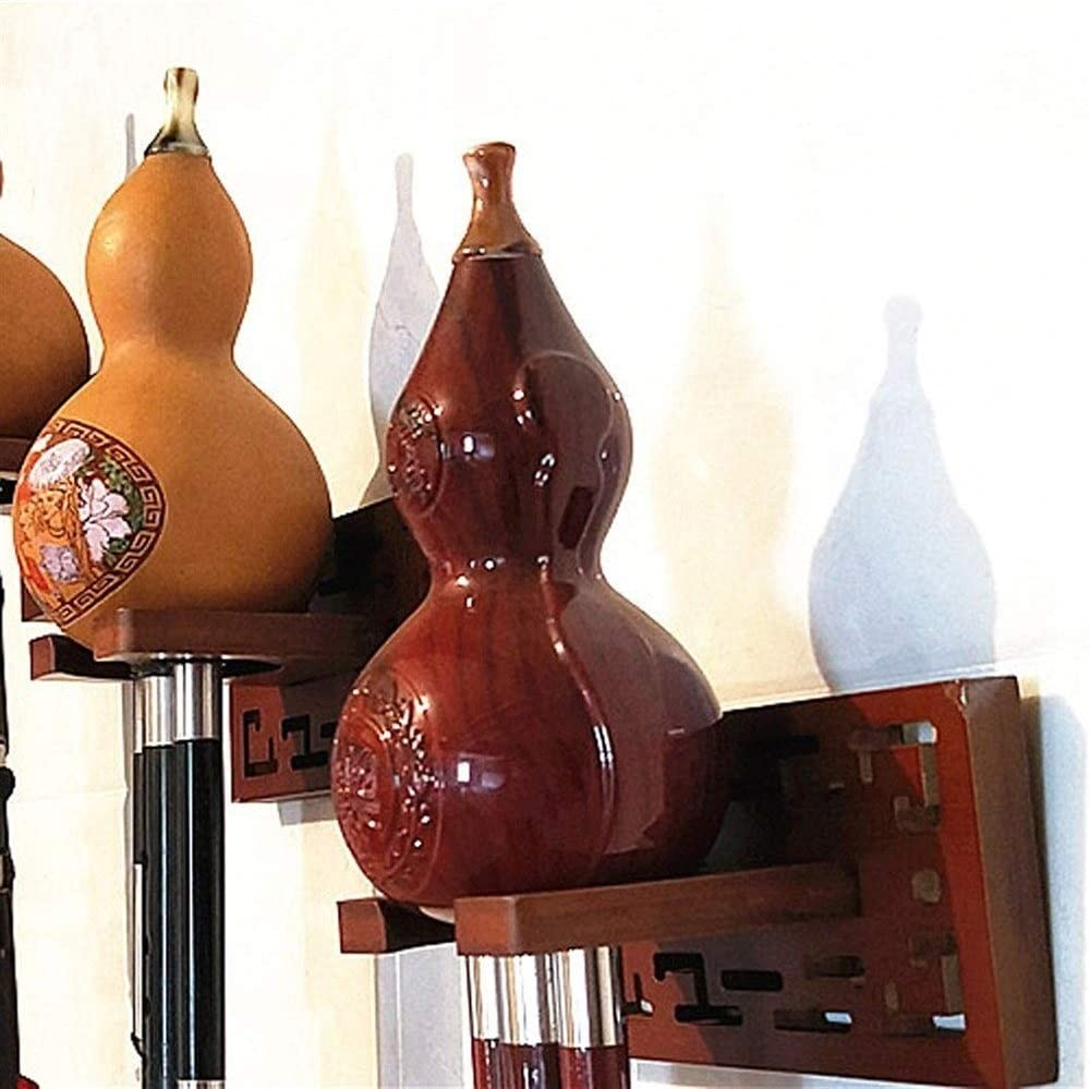 Bamb/ú cucurbit/áceas flauta de montaje en pared Percha Hulusi flauta Viendo del sostenedor del soporte for las cucurbit/áceas Hulusi flauta para Guitarra Viol/ín Etc