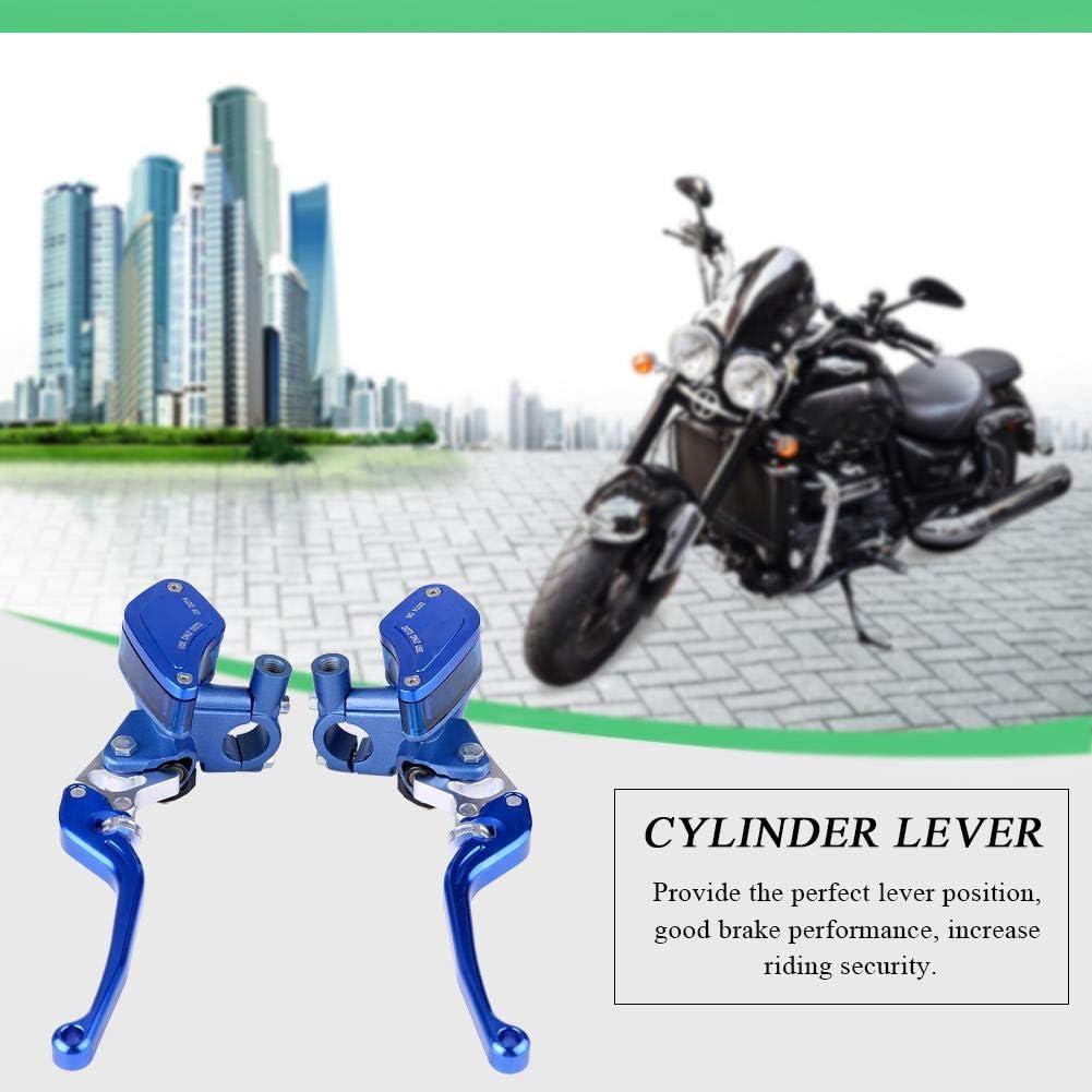 una coppia 22 mm CNC moto idraulica pompa freno cilindro frizione leva regolabile Frizione idraulica