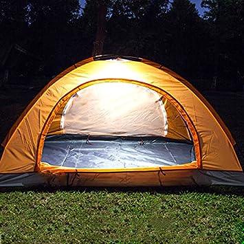 lzndeal Outdoor 300Lumens Hiking Camping LED Night Light Portable 4 Modes Lantern Tent Hanging Lamp