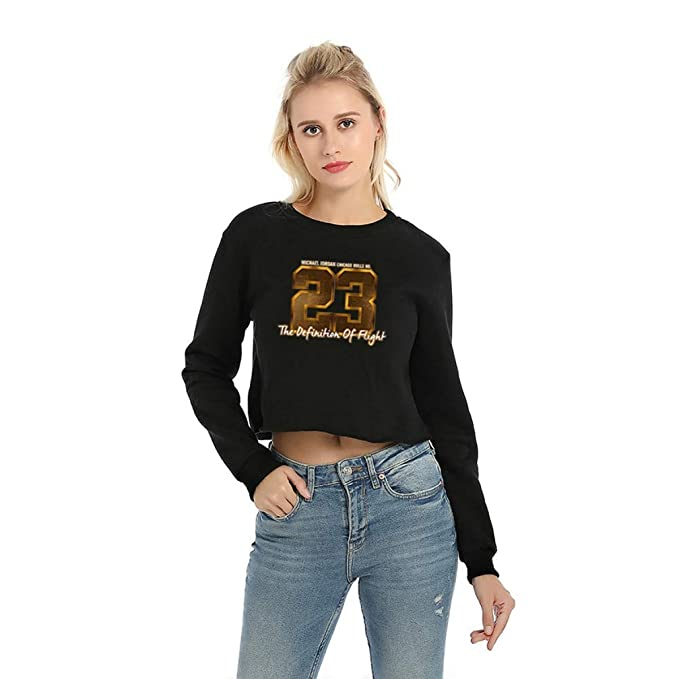 FLAMINGO_STORE Hoodies Women Cotton Round Neck Woman Sweatshirt Long Sleeve Sweatshirts at Amazon Womens Clothing store: