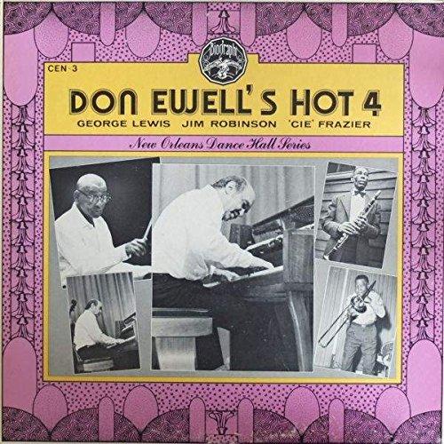 Cen Center - Don Ewell - Don Ewell's Hot 4 - Biograph - CEN 3, Center - CEN 3