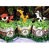 Wild Jungle Safari Mini Diaper Cakes - Handmade By LMK...