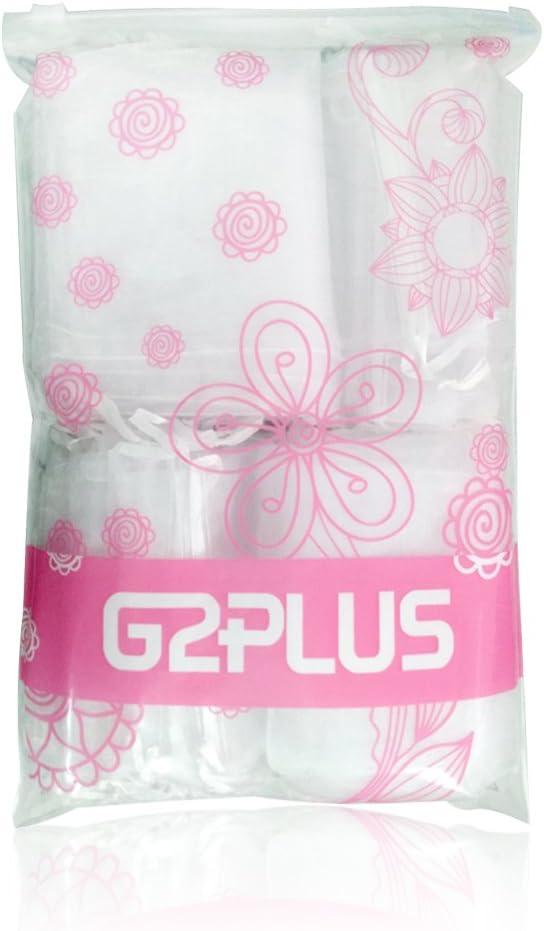 G2PLUS Lot de 100 Pochette cadeau en organza Sachets Pour les cadeaux 10/cm x 15/cm Blanc Wei/ß