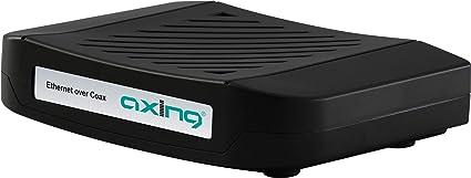 Axing EOC 1-11 - Adaptador de Ethernet a módem coaxial (Cable ...