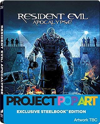 Resident Evil Apocalypse Limited Edition PopArt Steelbook / Region Free Blu Ray / U.K. Release.: Amazon.es: Cine y Series TV