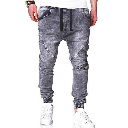 acquista per il meglio grande selezione prezzo più basso Uomo Pantaloni in Maglia con Coulisse,Pantaloni Running Uomo ...