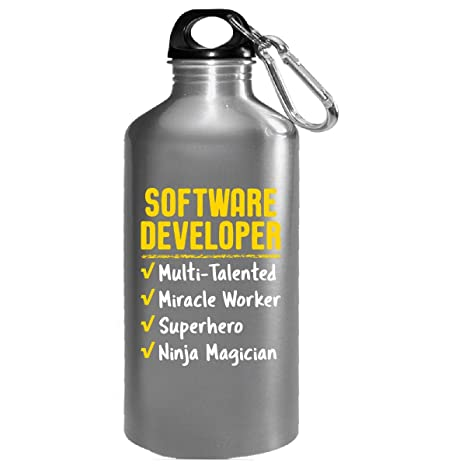 Amazon.com : Software Developer Miracle Worker Superhero ...