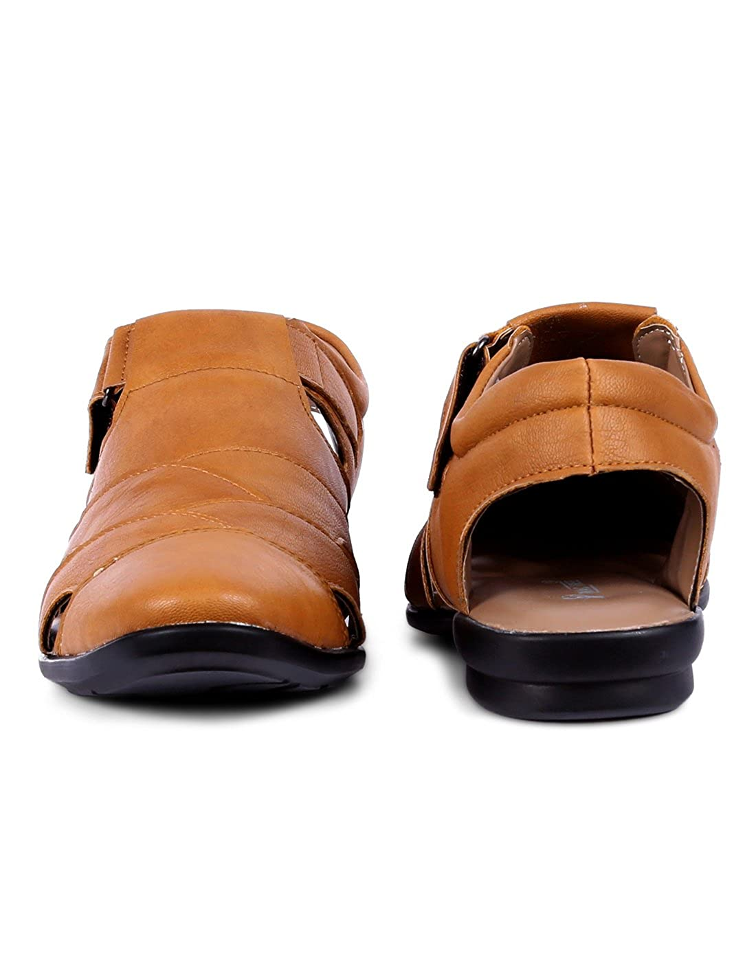 9823b54ba050f EL PASO Men s Faux Leather Tan Exquisite Casual Sandals  Buy Online at Low  Prices in India - Amazon.in