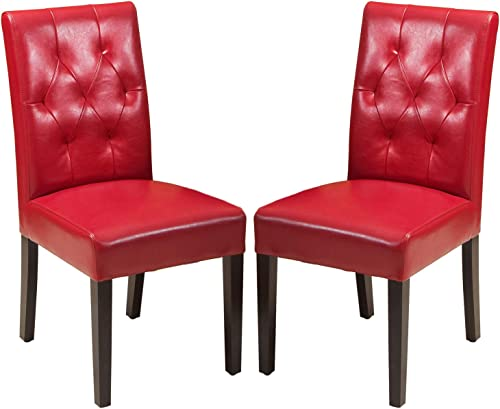 Christopher Knight Home Gentry Bonded Leather Dining Chairs