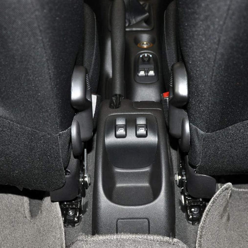 Supporto in Pelle per bracciolo Auto ruotabile per 206 207 2006-2013 Console Centrale con organizzatore con posacenere per Telefono//portabicchieri Nero