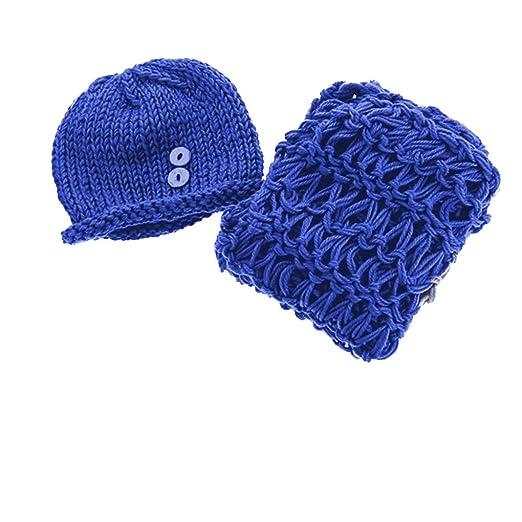 Dergtgh Azul Marino 40cm Circunferencia de la Cabeza bebé recién ...