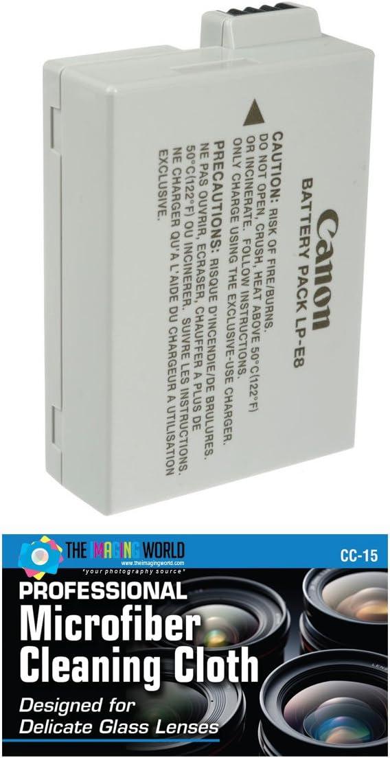 Canon LP-E8 Batería de Ion de Litio para EOS 550d: Amazon.es: Electrónica