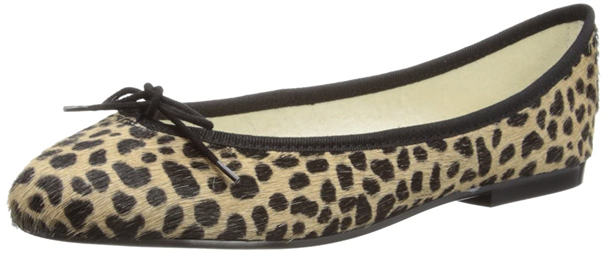 94eafeb91fad French Sole Womens India Leopard Ponyhair/Balck Trim Ballet Flats PT124 4  UK, 37 EU: Amazon.co.uk: Shoes & Bags