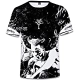 SERAPHY Unisexe 3D Printed Summer T-Shirt Xxxtentacion Boys Hip-hop Top Shirt Q0769 L