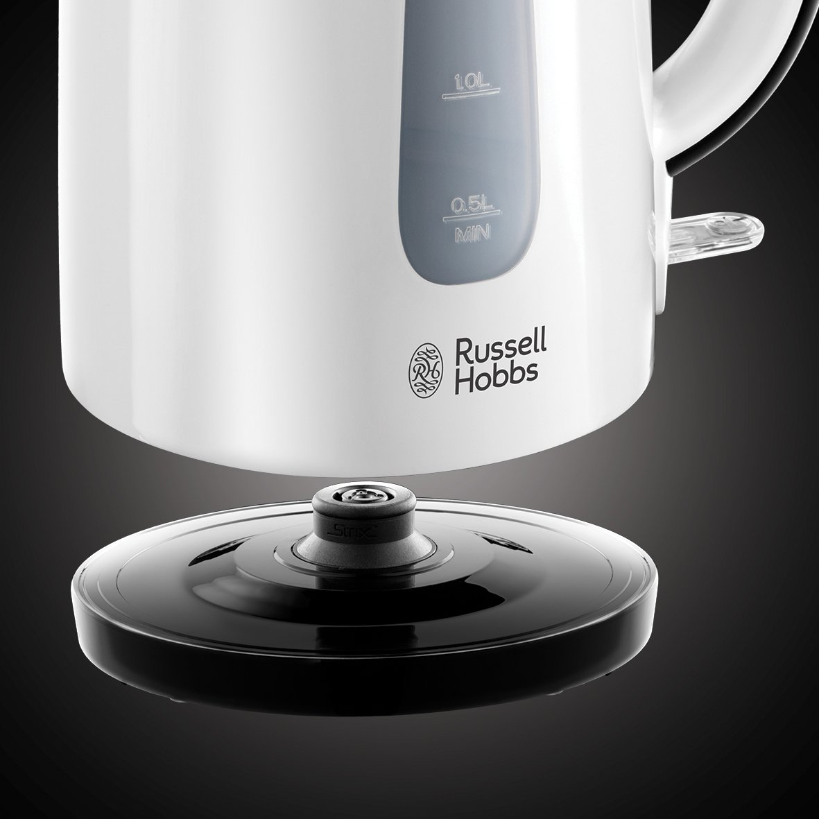 Russell Hobbs My Breakfast Two Slice Toaster with Kettle - White and Black