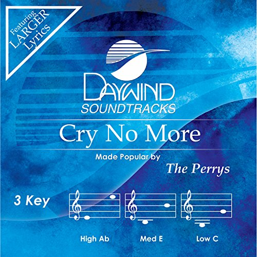 Cry No More [Accompaniment/Performance - Cd Accompaniment No