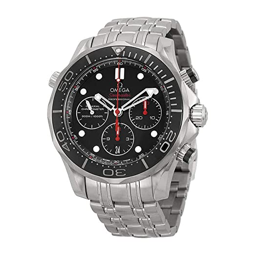 order online shop huge discount Omega 212.30.44.50.01.001 Seamaster Automatic Mens Watch - Black Dial