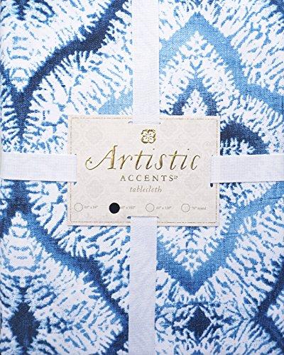 Artistic Accents Fabric Tablecloth Boho Bohemian Geometric T