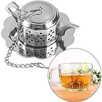 Colador de té de acero inoxidable para infusor