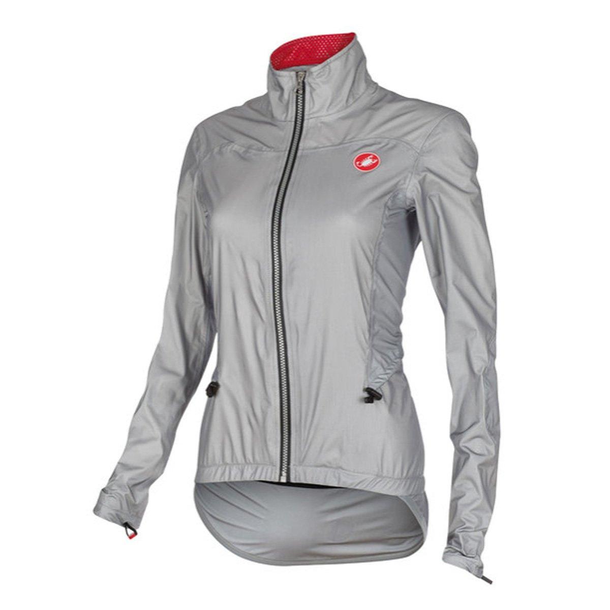 Castelli Donnina Rain Jacket – Women 's B014I6VQOA Large|グレー グレー Large