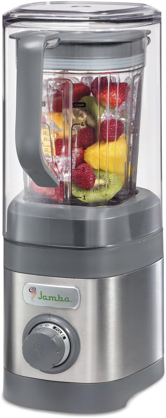 Jamba Appliances Quiet Shield licuadora con Vaso de 32 Oz, Gris ...