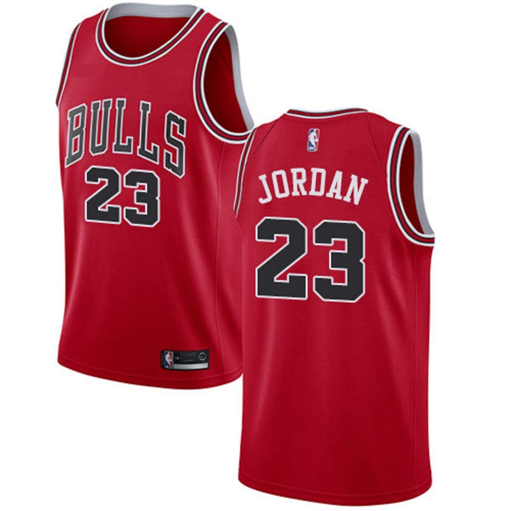 cd45fca4089 Amazon.com  Men s Chicago Bulls  23 Michael Jordan Swingman Jersey  Clothing