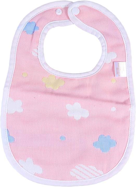 Vosarea Bebé Baberos Paños de Dibujos Animados Nube Bebé algodón Bufanda Baberos Niño Gasa Slabber Toalla (Azul Cielo): Amazon.es: Hogar