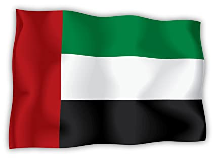 United arab emirates uae flag sticker decal 6