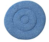 Glit / Microtron 404779 Microfiber Carpet Cleaning Bonnet Pad, 19'', Blue (Pack of 2)