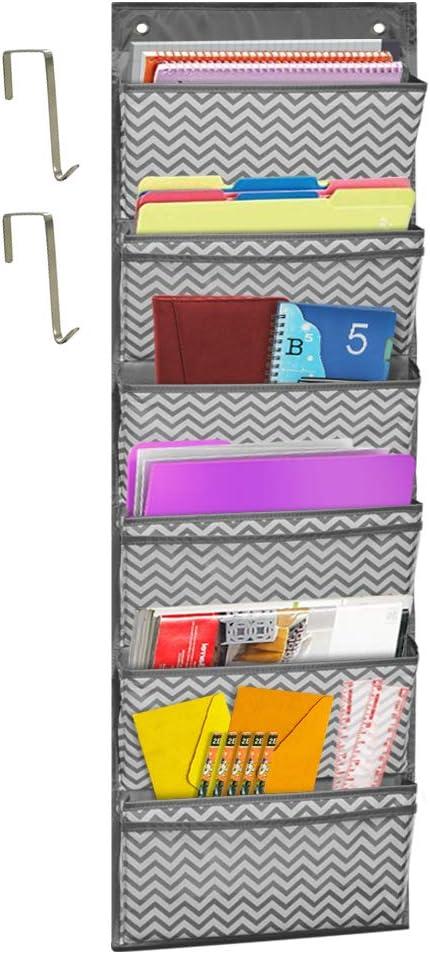 Amazon.com: godery sobre la puerta organizador de carpetas ...