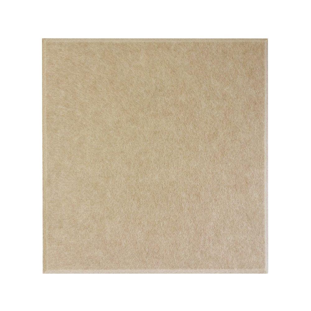 【30枚セット】 壁紙 失敗しない 貼るだけで省エネ 光熱費節約 後付けできる断熱材 フェルトパネル 45度カット 30×30cm クリームキャメル DS-FB-3030C-CAC-CTN B077HLLBQG