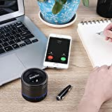 EasyAcc Mini Portable Rechargeable Bluetooth Speaker with Microphone for Tablet/Laptops - Titanium Black Bild 3