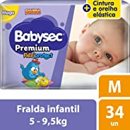 Fralda Galinha Pintadinha Premium M 34 Unidades, Babysec